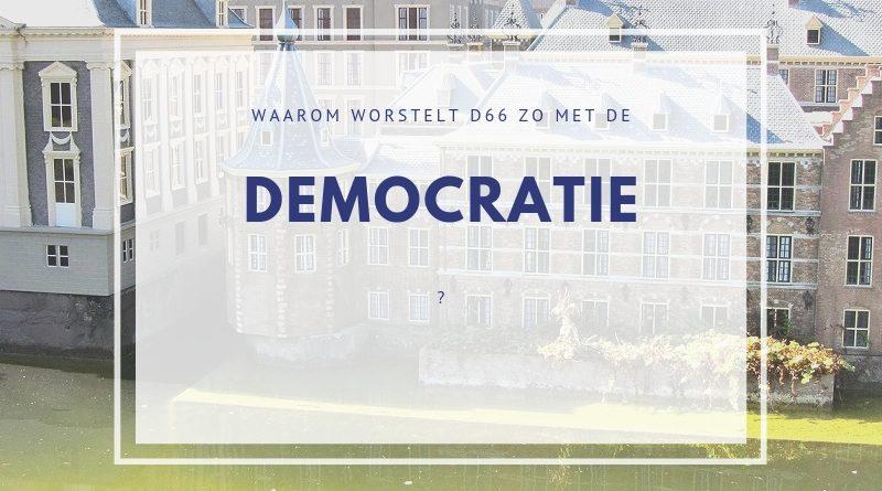 Referenda d66 worstelt met democratie